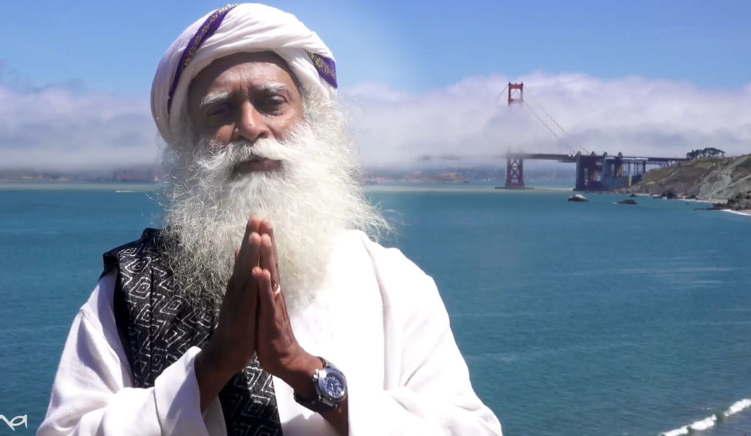 """""""Take charge of your health and well-being"""": Sadhguru's message on International Day of Yoga"""
